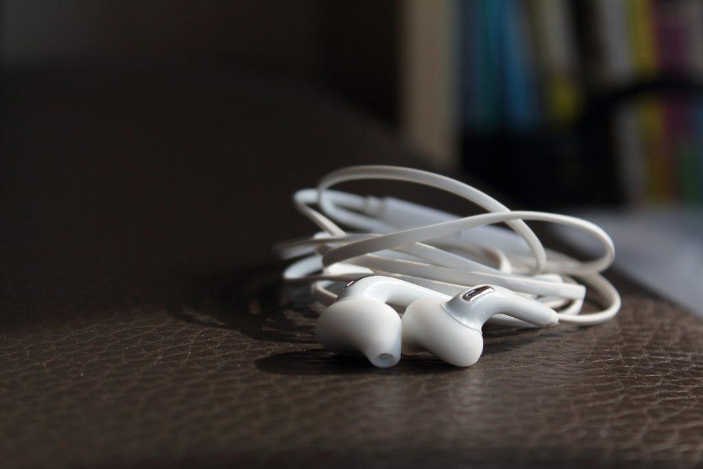 earphones - sleep listening